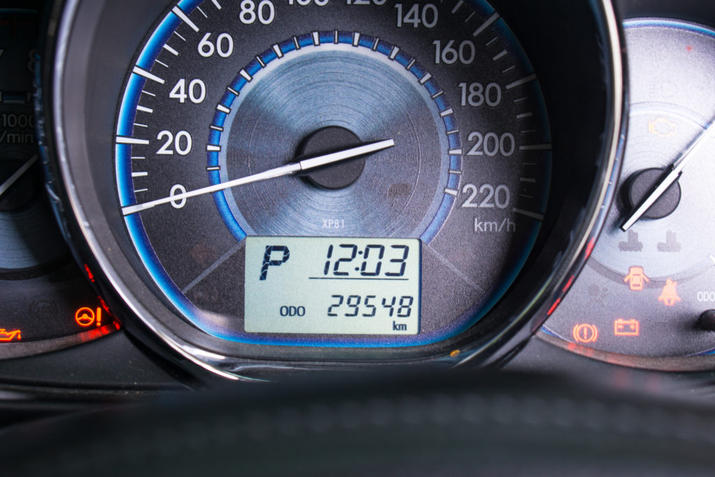 Odometer on Dashboard