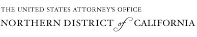 United states Attorney's office district of California logo